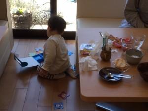 パズルと赤ちゃん